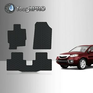 Toughpro Floor Mats Black For Acura Rdx All Weather Custom Fit 2007 2012