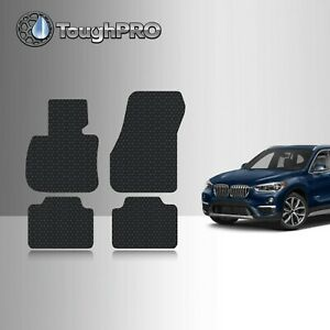 Toughpro Floor Mats Black For Bmw X1 All Weather Custom Fit 2016 2020