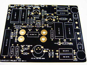 B k 747 B Tube Tester Replacement Pcb Recommended Bill Of Materials