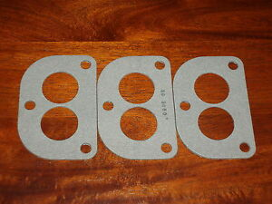 3x Ford Flathead Stromberg 97 48 81 D Carburetor Gasket Holley 94 Intake