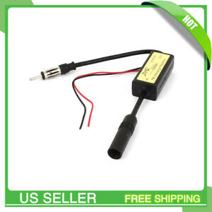 Marine Radio Fm Antenna Signal Amplifier Booster For Auto Car