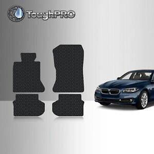 Toughpro Floor Mats Black For Bmw 5 Series All Weather Custom Fit 2011 2016