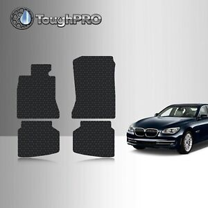 Toughpro Floor Mats Black For Bmw 7 Series All Weather Custom Fit 2009 2015