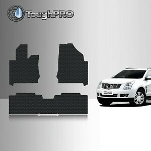 Toughpro Floor Mats Black For Cadillac Srx All Weather Custom Fit 2010 2016