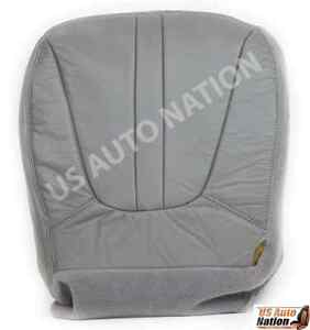 1997 2001 2002 Ford Expedition Eddie Bauer Driver Bottom Vinyl Seat Cover Gray