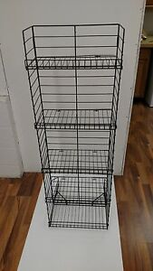 Wire Shelf Display Rack 4 Merchandise Display Racks