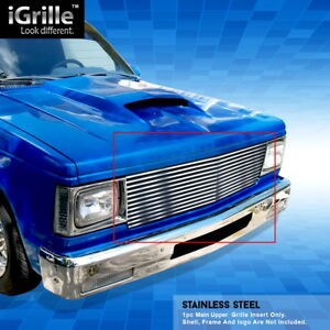 Egrille Stainless Steel Billet Grille Fit 82 1990 Chevy S 10 Pickup Blazer Jimmy
