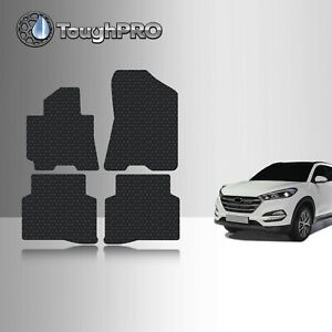 ToughPRO Floor Mats Black For Hyundai Tucson All Weather 2016-2021 $69.95