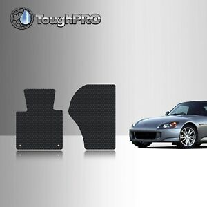 Toughpro Heavy Duty Black Rubber Custom For 2000 2009 Honda S2000 Floor Mats
