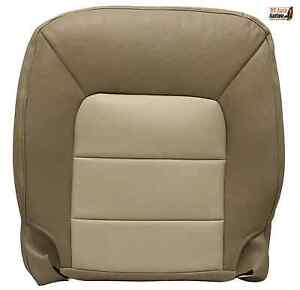 2004 2006 Ford Expedition Eddie Bauer Driver Side Bottom Leather Seat Cover Tan