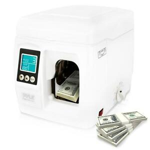 Pyle Bill Currency Binding Machine Automatic Bank Cash Money Strapping Binder