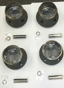 Piston Cylinder Set 90 5mm Fits Volkswagen Type1 Bug Type2 Bus Type3 Ghia Thing