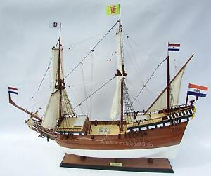 Duyfken Wooden Tall Ship Model 36 Handmade Wooden Ship Model