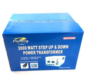 3000 Watt Step up step down 110 220vac Transformer St3000