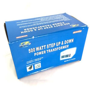 500 Watt Step up step down 110 220vac Transformer St500