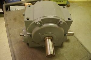 Regal Beloit Electric gear Speed Reducer 500b30b v Ratio 30 1