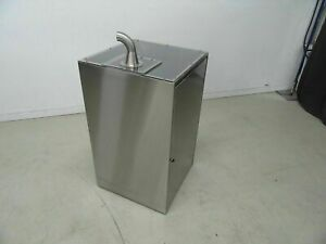 Stainless Steel Box Storage Container 25 X 25 X 44