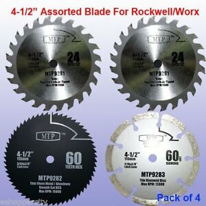 Mtp Circular Saw Blade 4 5 Part 4pcs 9 5mm a For Wood Rockwell Compact Wx429l