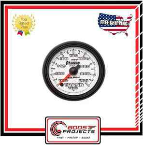 Autometer Transmission Temperature Phantom Ii Analog Gauge 2 1 16 7557