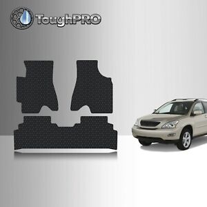 Toughpro Floor Mats Black For Lexus Rx300 All Weather Custom Fit 1999 2003