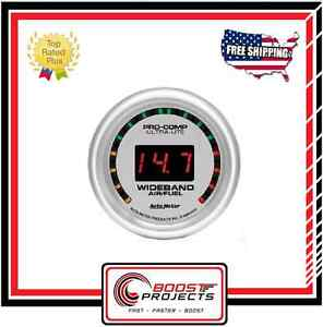 Autometer Ultra Lite Digital Gauge Wideband Air Fuel Ratio 10 1 17 1 Afr