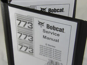 bobcat 773 g series service manual