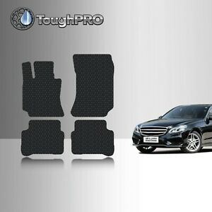 Toughpro Floor Mats Black For Mercedes benz E Class Sedan All Weather 2010 2016