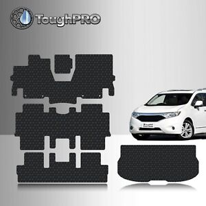 Toughpro Heavy Duty Black Rubber Custom For 2011 2015 Nissan Quest Floor Mats