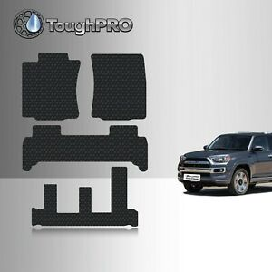 Toughpro Floor Mats 3rd Row Black For Toyota 4runner All Weather 2010 2021