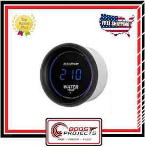 Autometer 0 340 f Cobalt Digital Series Water Temperature Gauge 6937