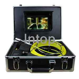 W 7 mon 20m Sewer Waterproof Camera Pipe Pipeline Drain Snake Inspection System