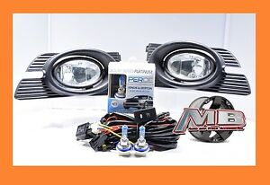 2003 2004 2005 Honda Accord 4 Door Clear Fog Lights Wiring Switch Kit H11 Perde