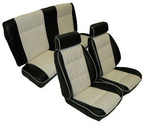 1982 88 G Body Front Bucket With Rear Bench Seat Upholstery Kit Vinyl
