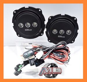 For 2007 2012 Ford Escape Clear Led Putco Luminix Fog Light Kit Wiring Switch