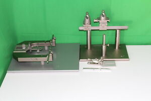 Trent H Wells Stereotaxic Small Animal Base Frame And Measuring Instruments