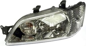 Fits 2002 2003 Mitsubishi Lancer Driver Left Front Headlight Lamp Assembly
