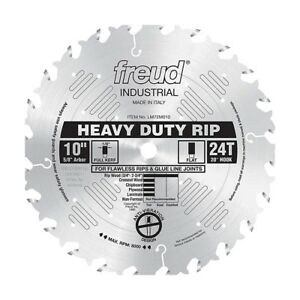 Freud Tools Lm72m010 10 Industrial Heavy Duty Rip Saw Blade