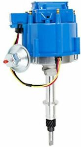 Hei Distributor Amc Jeep 232 258 6 cyl Engines 50k V Coil Blue Cap