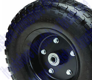 13 Inch Hard Rubber Worry Flat Free Replacement Tire Wheel Rim Dolly Hand Cart