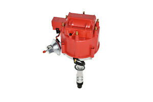 Chevy Gmc 4 3l V 6 Hei020r Hei Distributor With Red Cover Super Cap