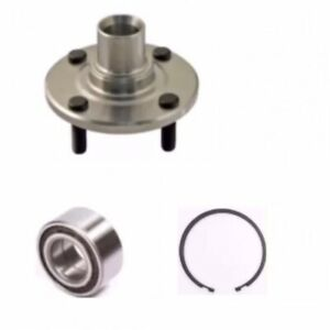 Front Wheel Hub bearing W snap For Nissan Versa 2012 2015 Left Or Right Side
