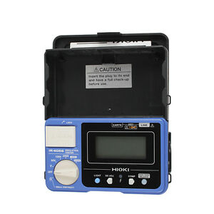 Hioki Ir4056 20 5 range 50 To 1000v Digital Insulation Resistance Tester