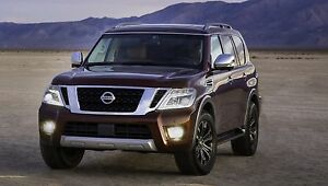 Bumper Xenon Fog Lamps Driving Lights Kit For 2017 2018 2019 Nissan Armada