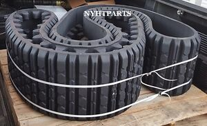 Two Genuine Oem Caterpillar Rubber Tracks Fits Cat 257 15x4x42 3258624 Cat
