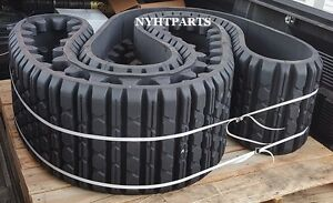 Two Factory Soucy Rubber Tracks Fits Cat 247b3 15x4x42 3258624