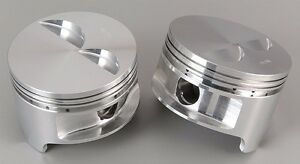 Rss 90496 Ross Racing Pistons c 350 1 133 C h 4 040 3 480 6 125 flat t