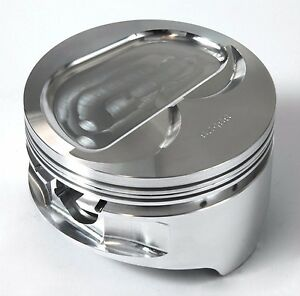 Pistons_forged_chev 350_4 020 Bore_1 268 C h_3 480 Stk_6 000 Rod_dish_ross_92460