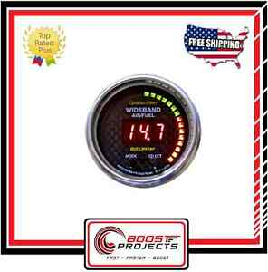 Autometer Carbon Fiber Ultra Lite Air Fuel Ratio Digital Gauge 4778