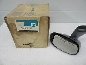 Nos 1976 1987 Buick Olds Pontiac Chevy Rear View Sport Mirror Gm 20146425 Dp