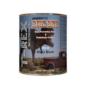 Paint Over Rust With Underbody Gloss Black Paint Gallon Trc 15 Rust bite